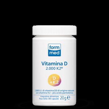Vitamina D 2.000 K2+